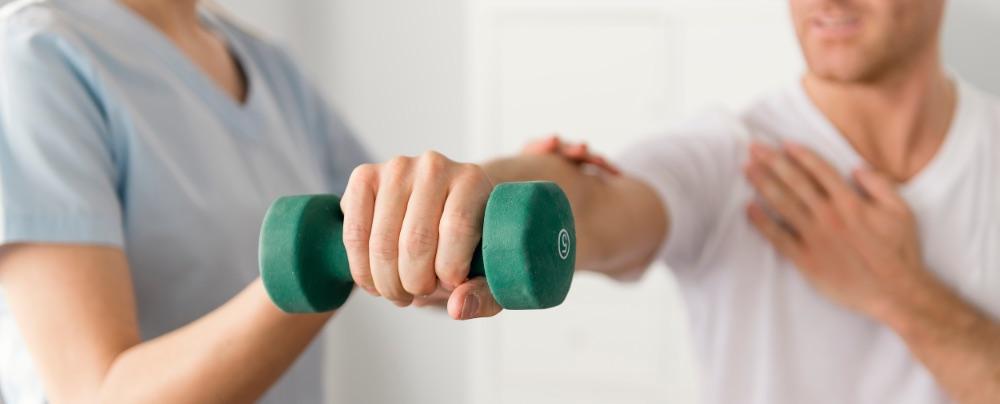 Oefenen met gewichten